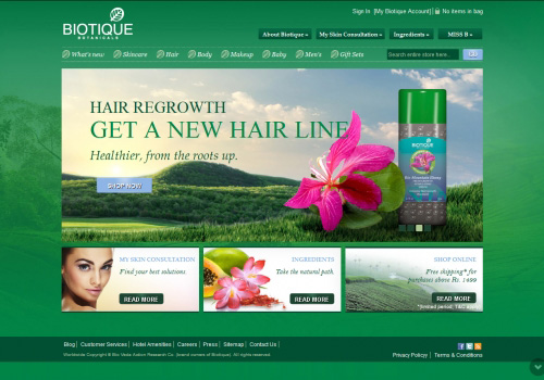 Biotique Beauty Products